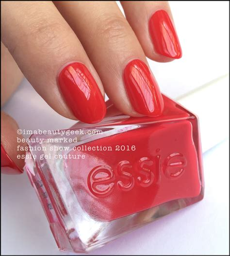 sizzling hot essie gel couture essie gel couture launch collection all 42 swatches