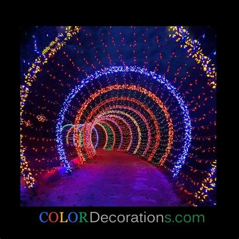 led light decorations cd od107 led lighting colorful garden wooden arch outdoor