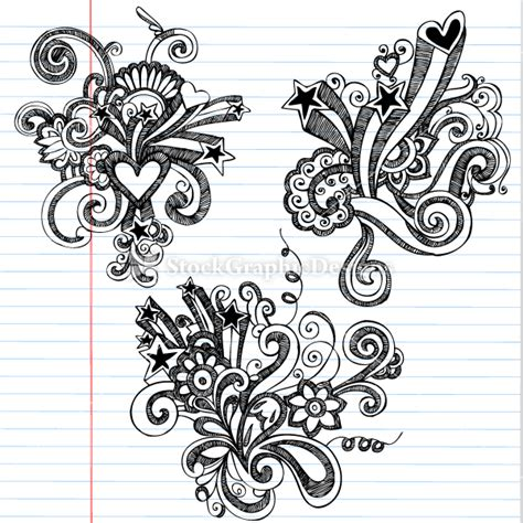 Pretty Designs To Draw Hand Drawn Doodles Flowers Awesome Designs Drawings