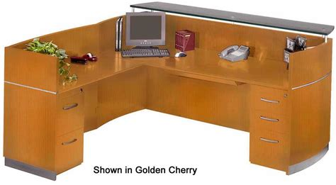 l desk with drawers l shaped napoli reception desk with drawers