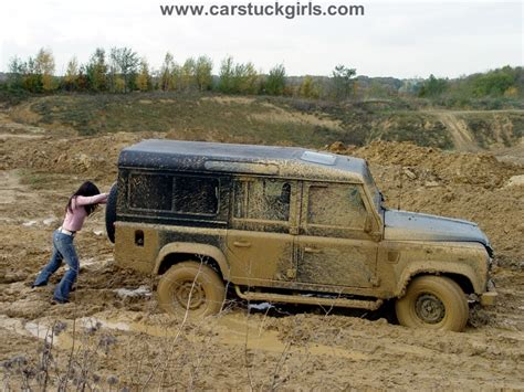 land rover mud land rover 110 stuck in the mud