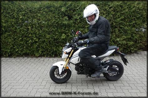 125 Motorrad F R Kleine by Hondas Angetestet Msx 125 Bis Fireblade Sp Bmw