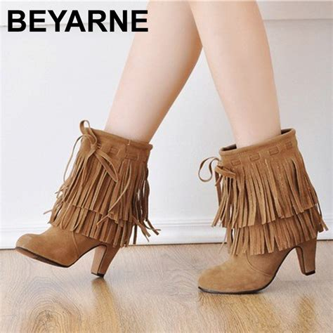 get cheap fringe boots suede aliexpress
