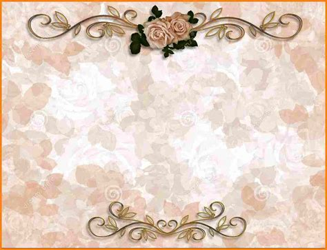 Wedding Background Templates by Wedding Invitation Background Templates Invitation Librarry