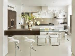 Modern Kitchen Table by Interesting Glass Kitchen Table Ideas As Combination Of