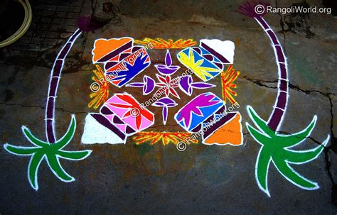 rangoli themes for pongal pongal pot rangoli designs gallery 1
