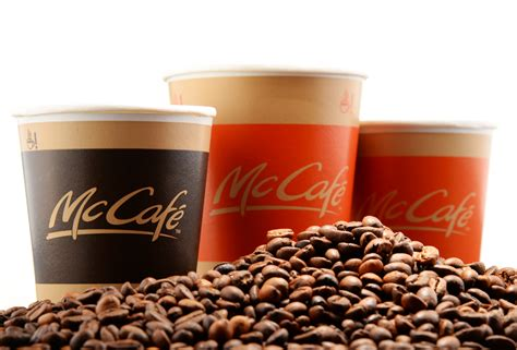 Coffee Mcd mcdonald s invests heavily in its mccaf 233 to beat starbucks