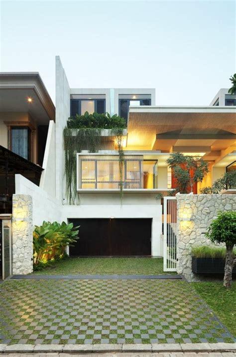 zen exterior home design fassadengestaltung einfamilienhaus ideen und bilder