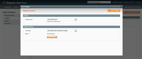 magento layout update xml add cms block magento enterprise add static block in specific cms page