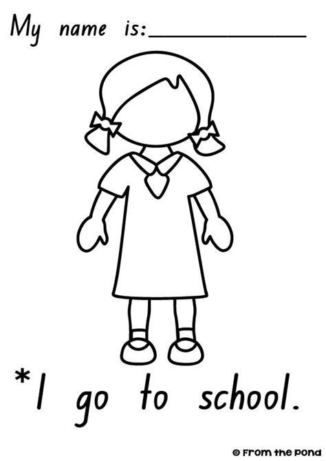 kindergarten activities myself worksheet on myself for kindergarten worksheets for kids