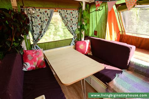 Pop Up Camper Floor Plans by City Living In A Pop Top Camper Living Big In A Tiny House