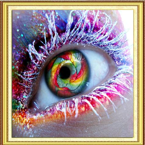 Diy Painting 5 5d diy painting cross stitch color eye