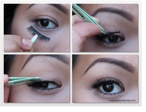 How To Wear False Eyelashes by How To Apply False Eyelashes A Guide For Beginners