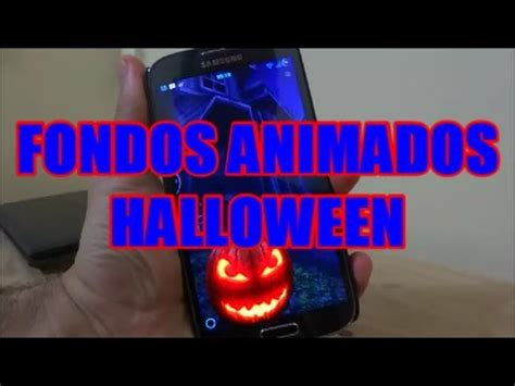youtube imagenes halloween fondos de pantalla animados para halloween live wallpaper