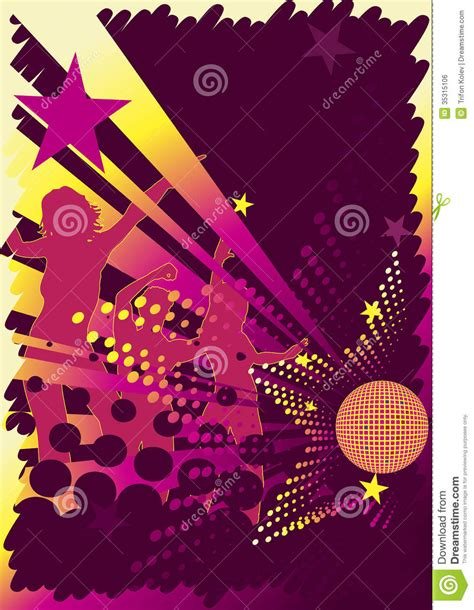 Bar Floor Plans dance club poster stock photo image of background grunge