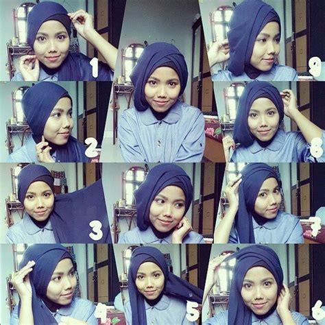 tutorial hijab paris jadi turban 10 tutorial hijab paris untuk wisuda meski sederhana