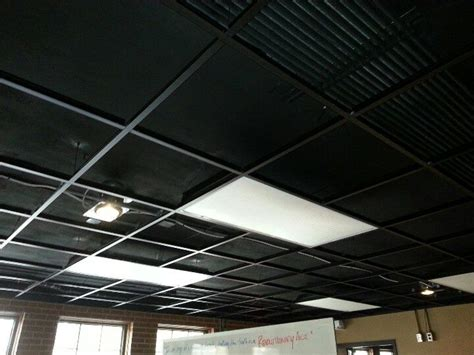 Black Suspended Ceiling Tiles by Best 25 Drop Ceiling Tiles Ideas On Dropped