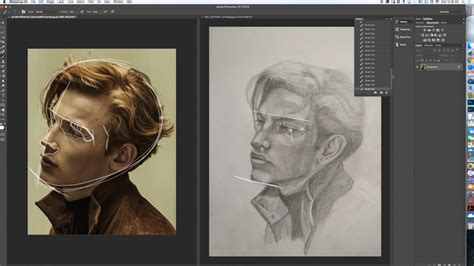 tutorial drawing online how to draw a three dimensional portrait drawing