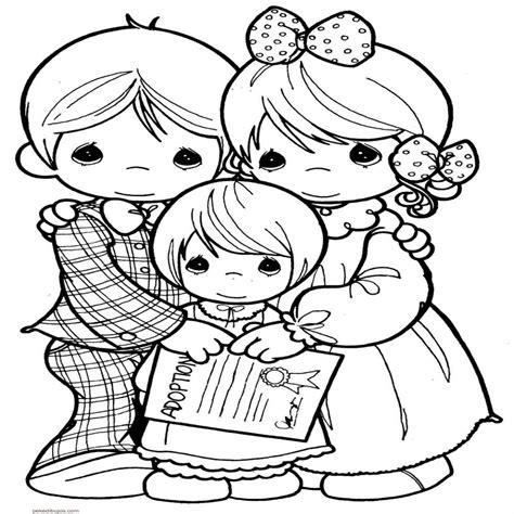 imagenes infantiles familia dibujos de la familia para colorear y pintar artes