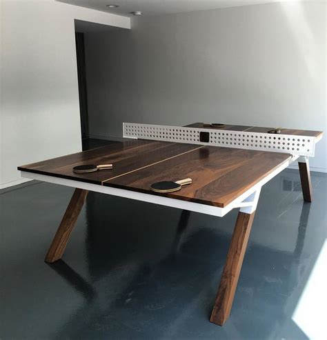 high end ping pong tables because everyone can use more ping pong in his the