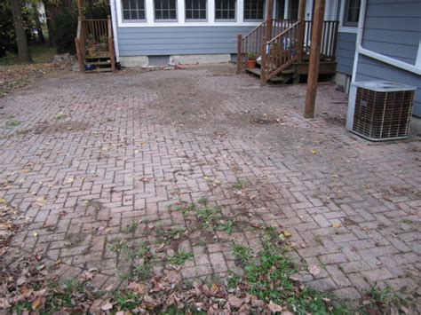How To Clean Patio Pavers Brick Pavers Canton Plymouth Northville Arbor Patio Patios Repair Sealing