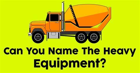 heavy equipment quizpug
