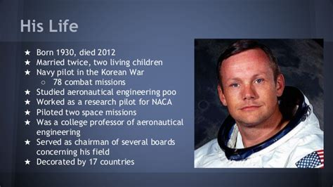 biography of neil armstrong in short neil armstrong google presentation exle