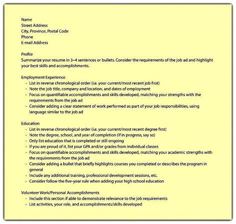 Academic Resume Format by Sle Academic Resume Free Sles Exles Format Resume Curruculum Vitae Free