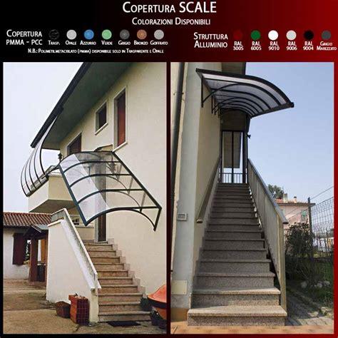 tettoie per scale esterne mobili e arredamento coperture scale esterne