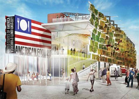 Mellanl Ng Frisyr by Vertikaler Garten Auf Der Expo 2015 Das Usa Pavillon