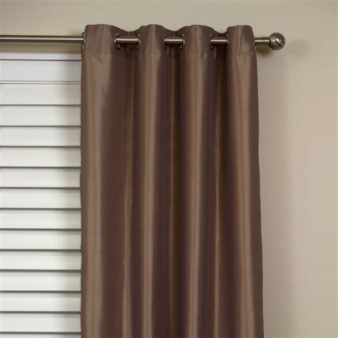 Buy Taj Faux Silk Eyelet Curtain Online Curtain Wonderland
