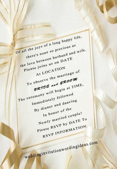 fairytale wedding invitation wording   My Best Friend's