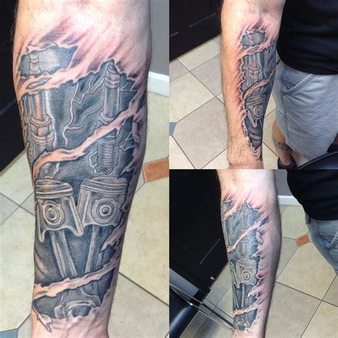 gearhead tattoo designs gearhead sleeve www pixshark images