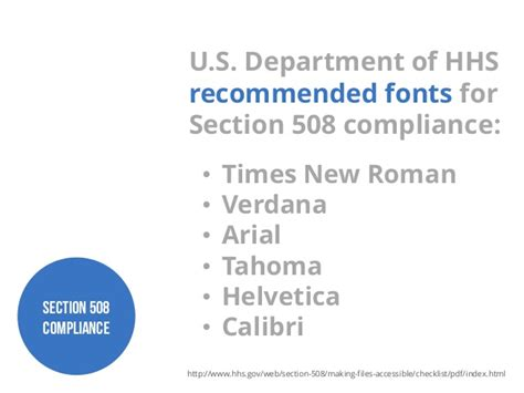hhs section 508 designstorm choosing the right typefaces