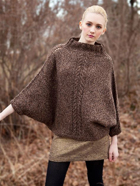 free patterns poncho poncho knitting patterns in the loop knitting