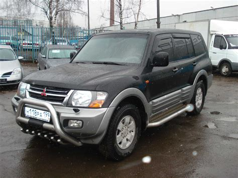 mitsubishi car 2002 mitsubishi pajero for sale used mitsubishi pajero for