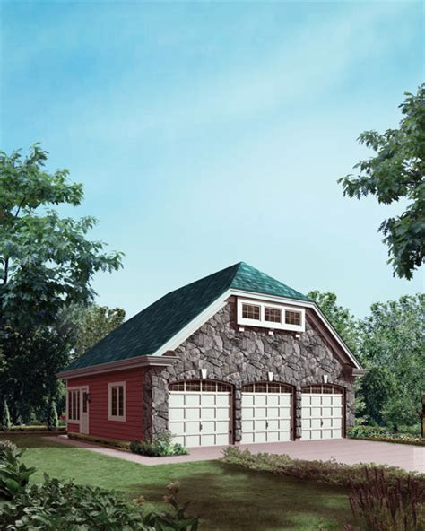 3 Car Garage Plans With Bonus Room by Grit 3 Car Garage With Bonus Rooms E Plan