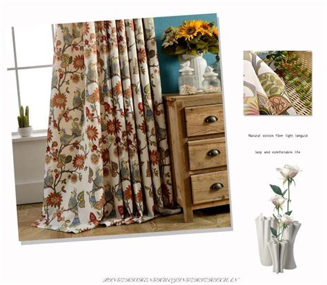 american living drapes american living curtains rustic home decor birds pattern
