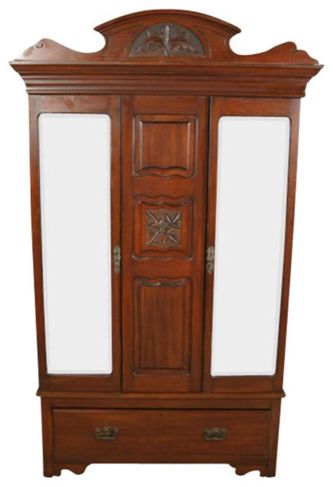 Armoires Wardrobes by Antique Walnut Wardrobe Armoire Traditional
