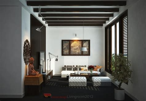 zen inspired living room asian inspired interiors