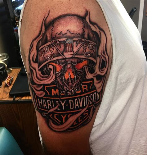 harley tattoos designs 95 adventurous harley davidson tattoos