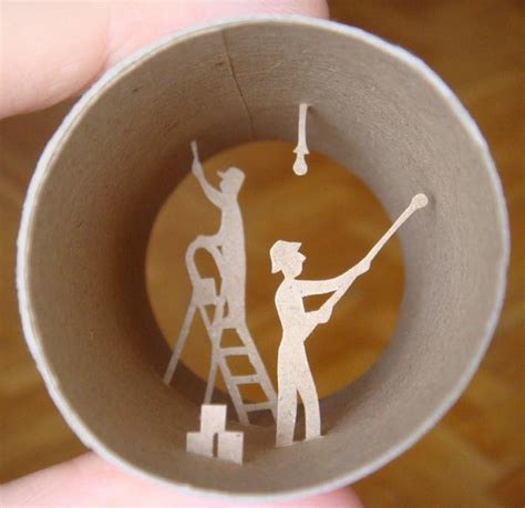 Crafts From Toilet Paper Rolls - toilet roll paper crafts gadgetsin