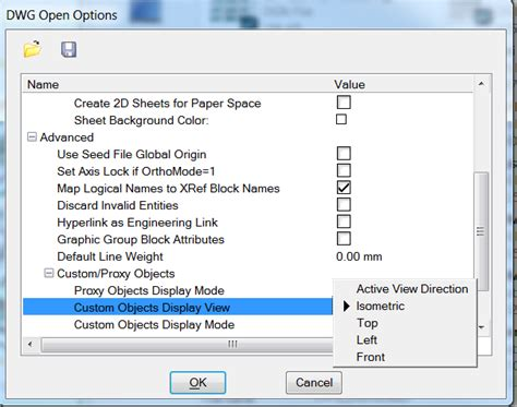 dwg format file open cannot open civil3d dwg fully in microstation
