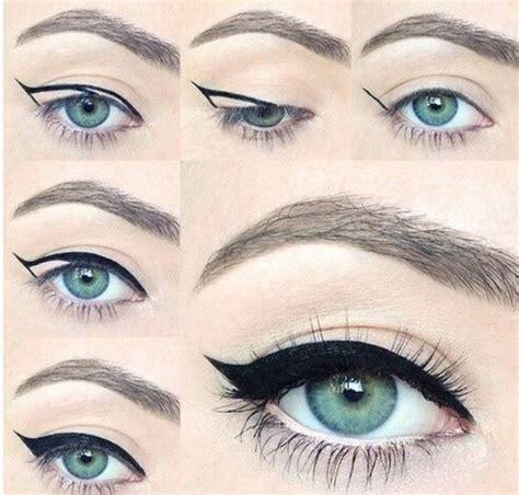 tutorial eyeliner occhi cadenti oltre 25 fantastiche idee su occhi azzurri su pinterest