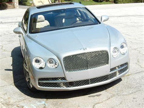 Bentley Of Atlanta Autonsider Review 2014 Bentley Flying Spur W12 Courtesy