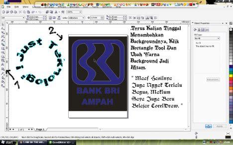 tutorial logo bri rainbow com cara membuat logo bank bri