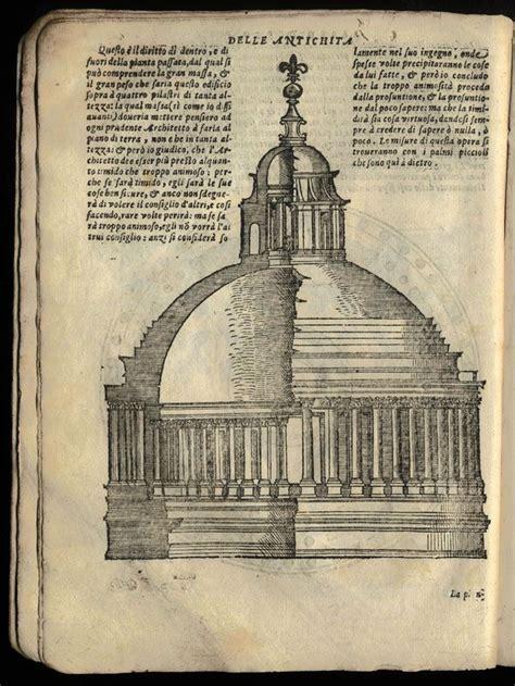 libro palladio and palladianism world sebastiano serlio terzo libro d architettura disegno del duomo di san pietro architecture