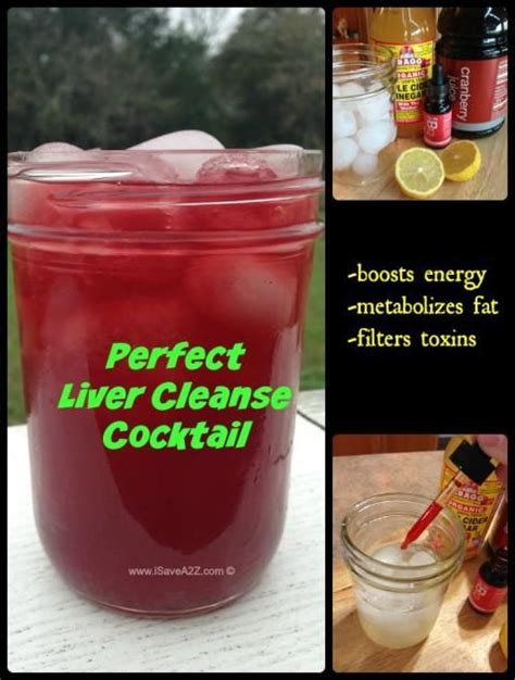 Detox Drinks For In Stores by Liver Cleanse Cocktail With An Energy Booster