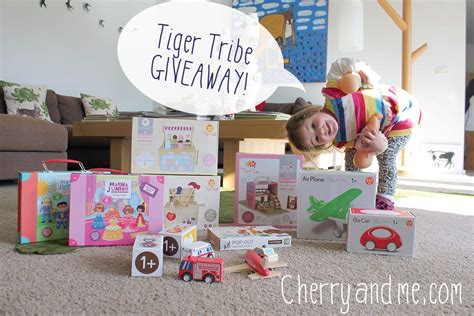 Tigers Giveaways - tiger and cherry love tiger tribe giveaway