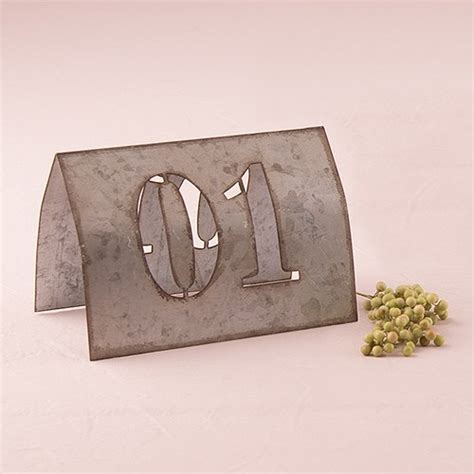 metal table numbers industrial table numbers confetti co uk